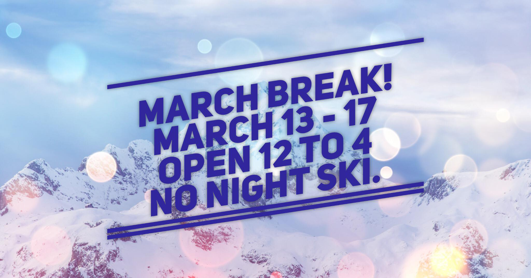 March Break 2017