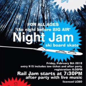 Night Jam - the night before BIG AIR